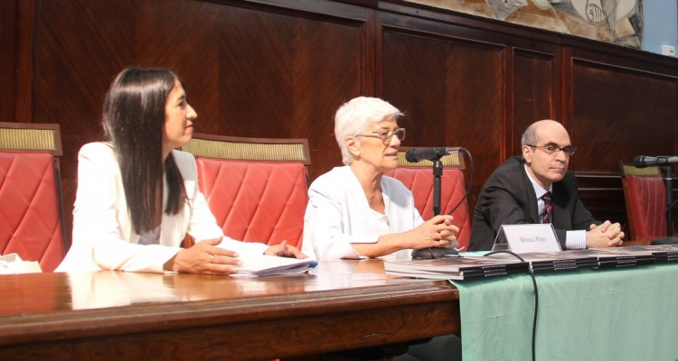 Natalia Santomé, Mónica Pinto y Néstor E. Solari