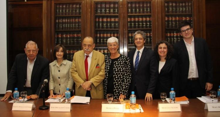 Julio B. J. Maier, Marina Mariani de Vidal, José O. Casás, Mónica Pinto, Marcelo Alegre, Mary Beloff y Ramiro M. Fihman