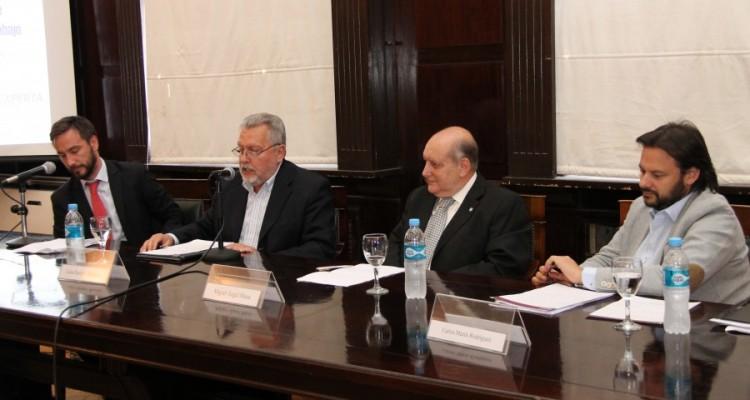 Oscar Benítez, Luis Enrique Ramírez, Miguel Ángel Maza y Carlos Marín Rodríguez