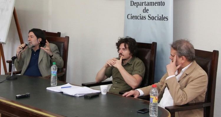 Ricardo Rabinovich-Berkman, Juan Francisco Martínez Peria y Enrique Del Percio