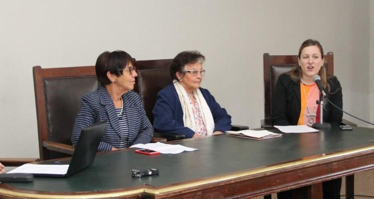 Gabriel Bedrossian, Adriana Wagmaister, Delma Cabrera y Romina Gaggia