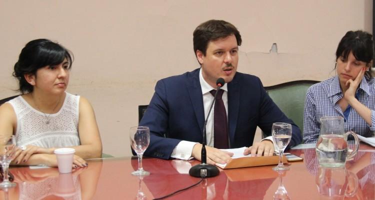 Yamila Castagnola, Sebastian Barocelli y Débora Marhaba