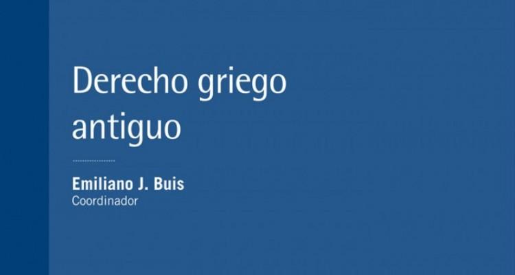 Revista Jurídica de Buenos Aires (año 42, número 94, 2017). Derecho griego antiguo