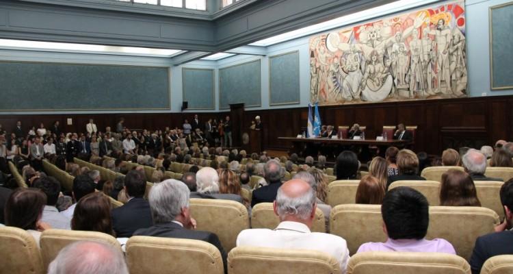 Alberto J. Bueres asumió como decano de la Facultad para el período 2018-2022