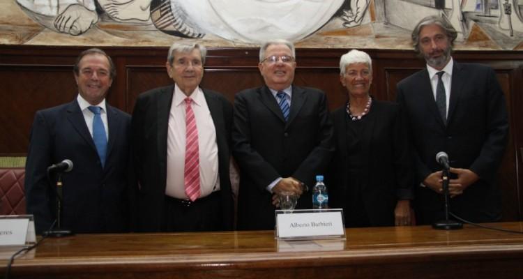 Marcelo Gebhardt, Alberto J. Bueres, Alberto Barbieri, Mónica Pinto y Juan Pablo Mas Velez