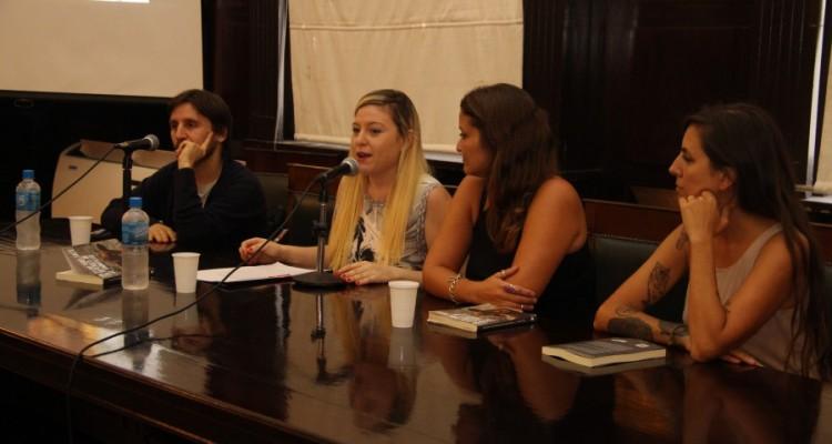 Oscar Horta, Agostina Allori, Alexandra Navarro y Malena Blanco
