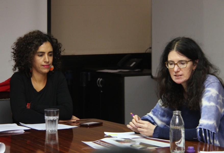 Silvina Zimerman y Laura Clérico