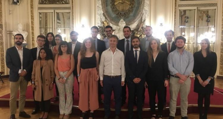 Estudiantes de la carrera de Abogacía participaron de una nueva edición del Programa de capacitación institucional (PROCAI)