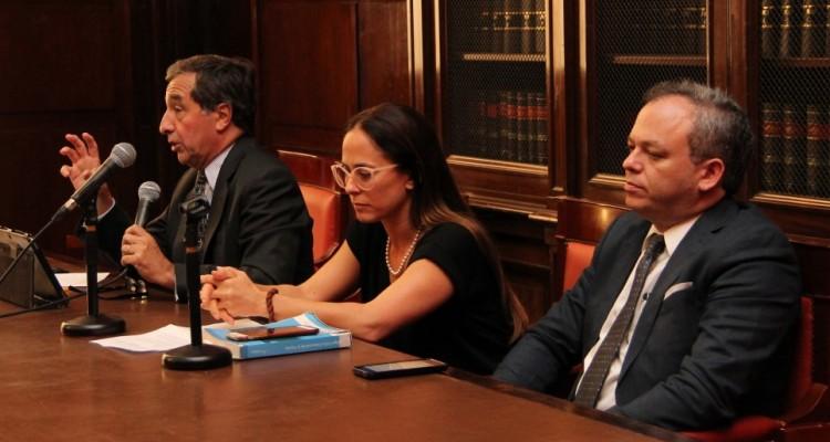 Alejandro Borda, Marcela Judith Wasserman y Juan Francisco Ortega Díaz