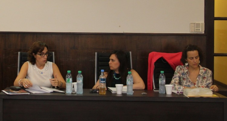 Cecilia Incardona, Cecilia Hopp y María Luisa Piqué