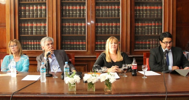 Viviana Bonpland, Alberto Bozzolo, Marisa Aizenberg y Marcos Ibarra