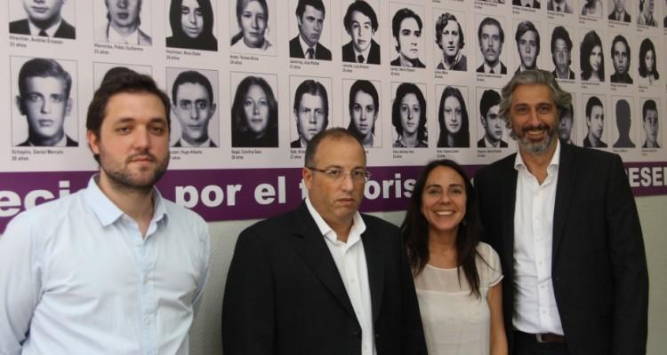 Francisco Alfonsín, Oscar Zoppi, Valeria Thus y Juan Pablo Mas Velez