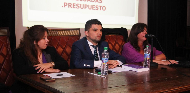 Noelia Cortinas, Diego Ortiz y Viviana H. de Souza Vieira