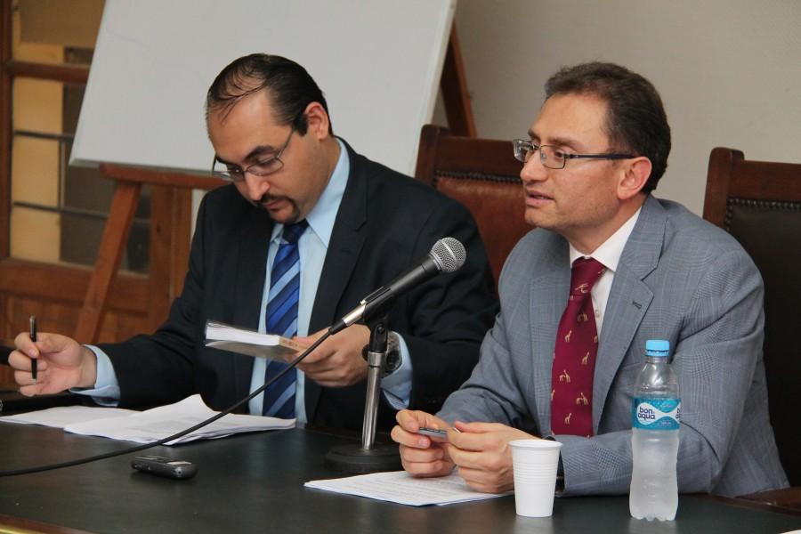 Rodrigo Raskovsky y Juan Carlos Forero Ramírez
