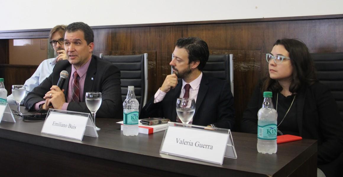 Martín Sigal, Nils Melzer, Emiliano J. Buis y Valeria Guerra