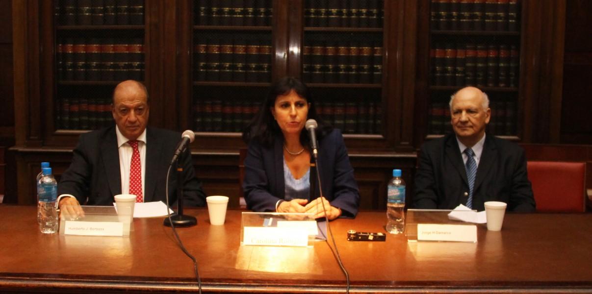 Humberto J. Bertazza, Carolina Robiglio y Jorge H. Damarco
