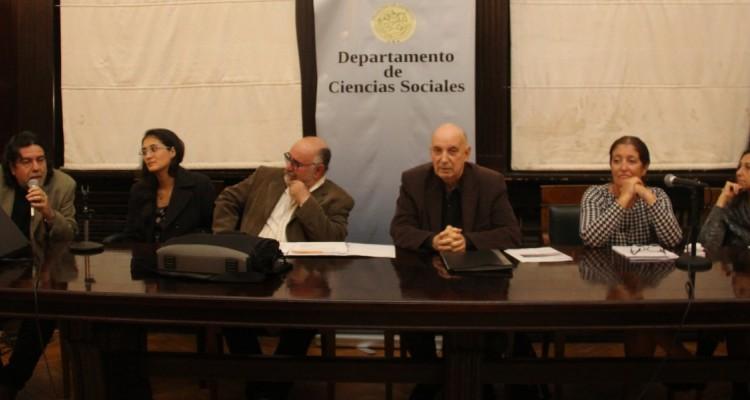 Ricardo Rabinovich-Berkman, Paula Rodríguez, Juan Ciliento, Carlos Berbeglia, Mónica De Martino y Andrea Gastron