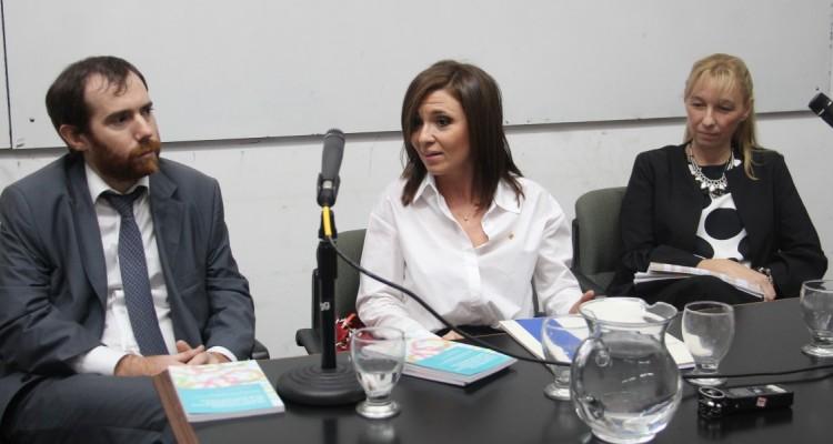 Juan Pablo Olmo, Silvina Munilla y Xenia Baluk