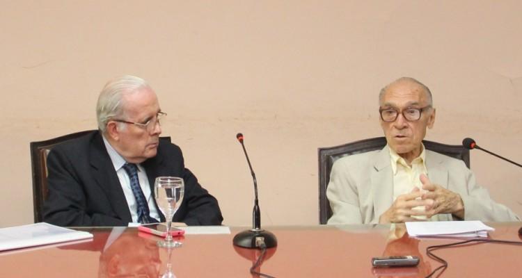 Tulio Ortiz y Abelardo Levaggi