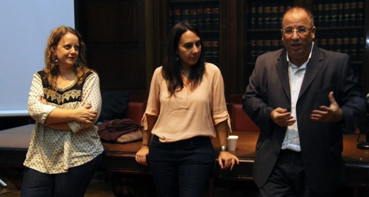 Malena Silveyra, Valeria Thus y Oscar Zoppi
