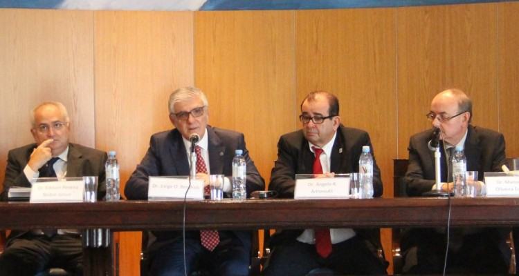 Edilson Pereira Nobre Júnior, Jorge O. Bercholc, Angelo Roberto Antoniolli y Manoel de Oliveira Erhardt