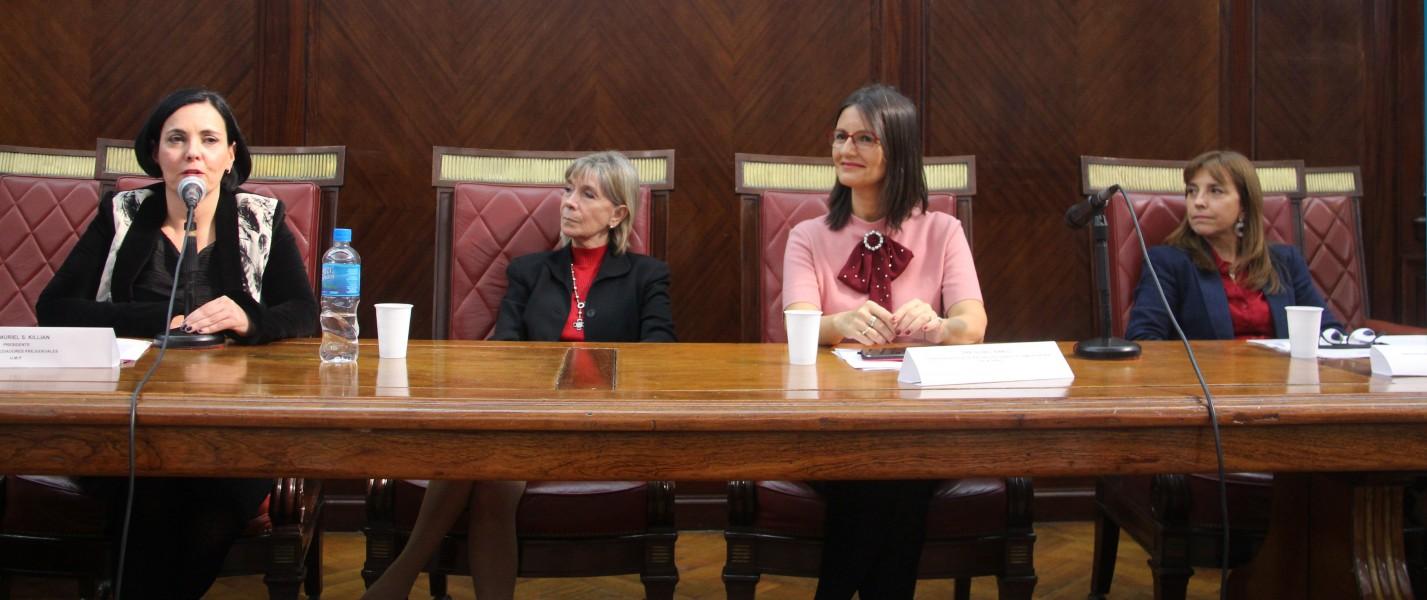 Muriel S. Killian, Silvia Nonna, Silvia L. Bianco y Raquel Munt