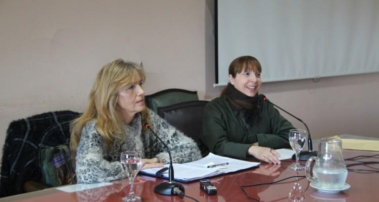Gloria Vodanovich Casañas y Verónica Lescano Galardi