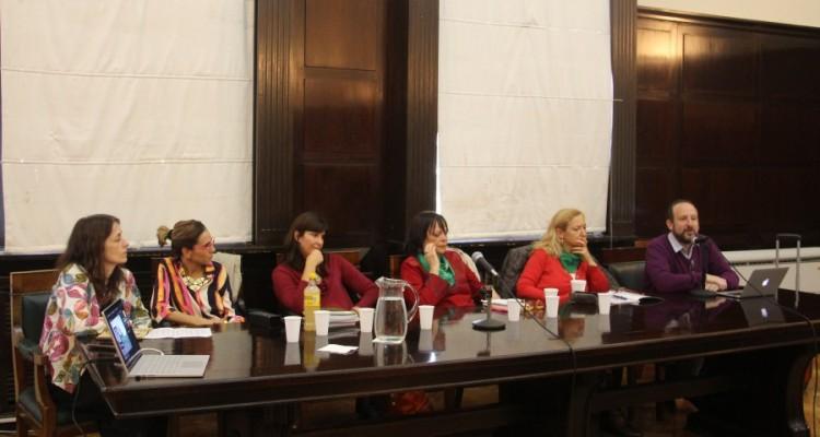 Laura Pautassi, Marisa Herrera, Lorena Gargiulo, Mónica Tarducci, Débora Tajer y Mario Pecheny