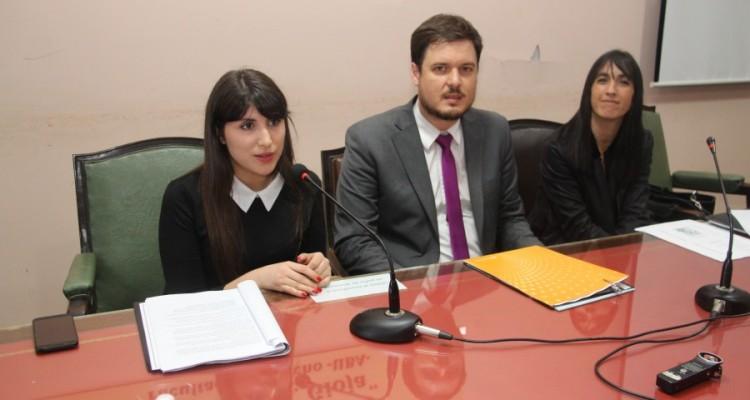 Gala Núñez, Sebastián Barocelli y Natalia Torres Santomé