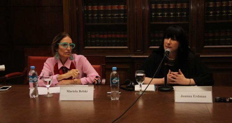 Mariela Belski y Joanna Erdman