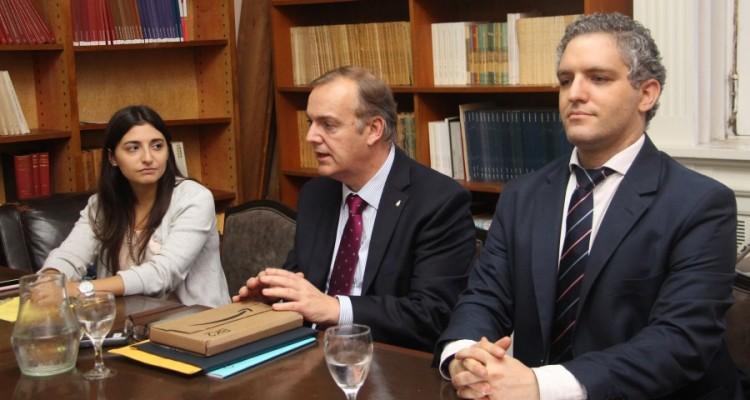Laura D. Jaroslavsky Consoli, Leopoldo M. A. Godio y Ricardo Arredondo