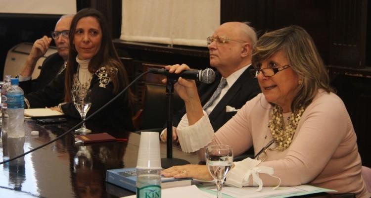 Osvaldo Marzorati, Mariela Rabino, Antonio Boggiano y María Elsa Uzal