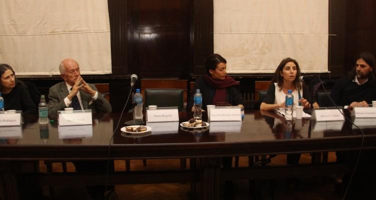 Marcela Rodríguez, Martín Farrel, Agustina Ramón Michel, Julieta Di Corleto y Mariano Fernández Valle