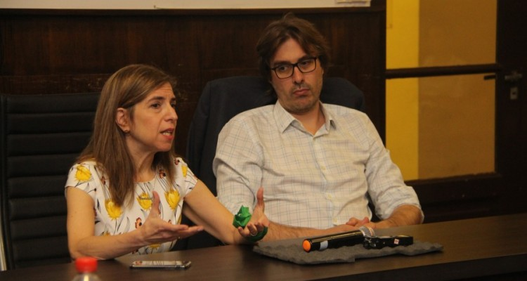 Ingrid Beck y Martín Sigal