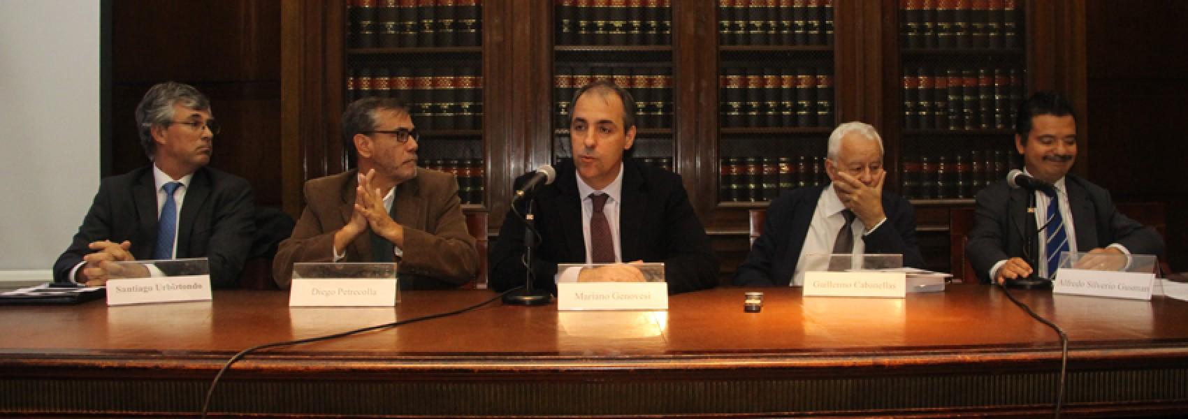 Santiago Urbiztondo, Diego Petrecolla, Mariano Genovesi, Guillermo Cabanellas y Alfredo Silverio Gusman