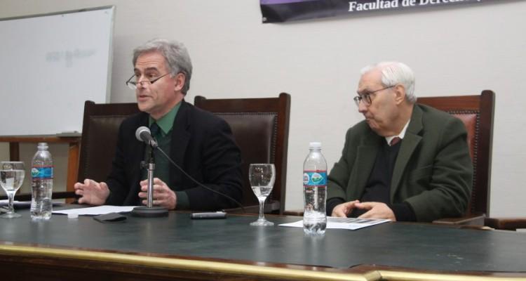Andrés Rosler y Ricardo Guibourg