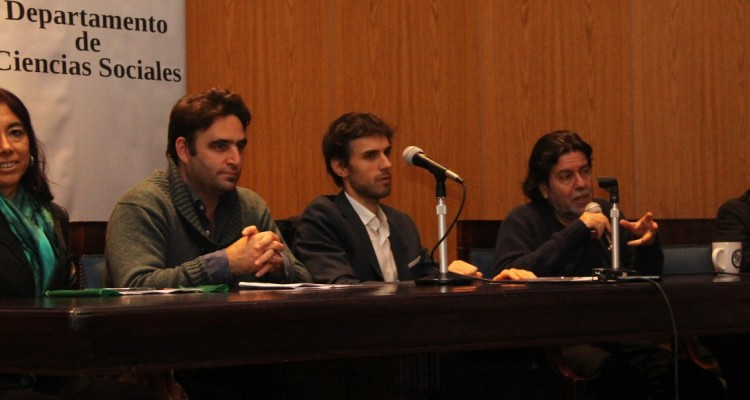 María Rosa Ávila, Julián Axat, Guido Croxatto, Ricardo Rabinovich-Berkman y Verónica Lescano Galardi