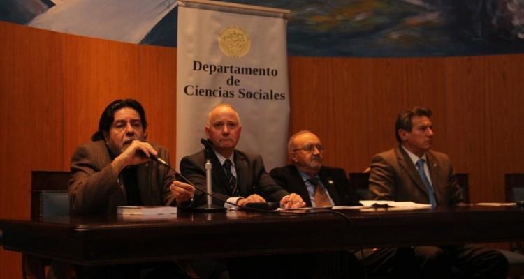 Ricardo Rabinovich-Berkman, Luis Alberto Rey, Eduardo Conesa y Gustavo Zunino