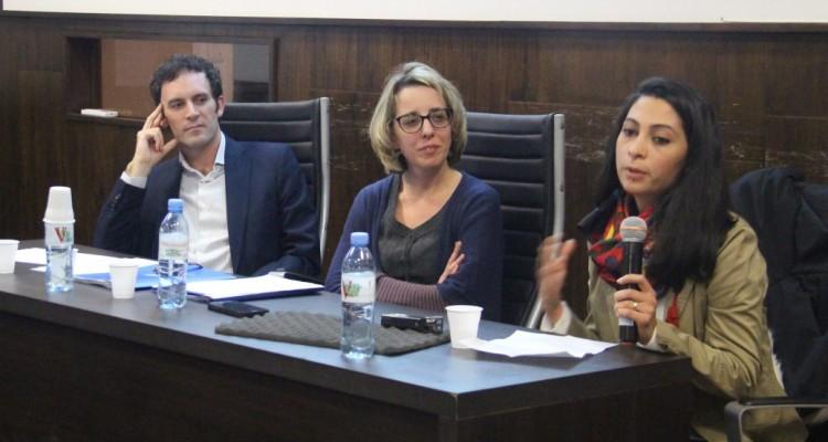 Martín Lettieri, Ana Paula Penchaszadeh y Lana