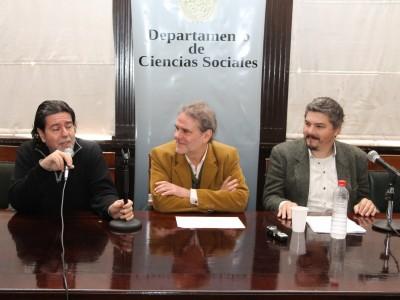 Ricardo Rabinovich-Berkman, Enrique Del Percio y Pablo Baisotti