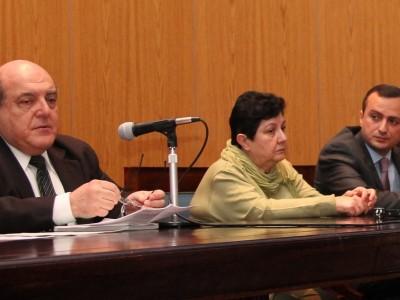 Roberto Malkassian, Hasmik Mkrtchian y Robert Avetisyan