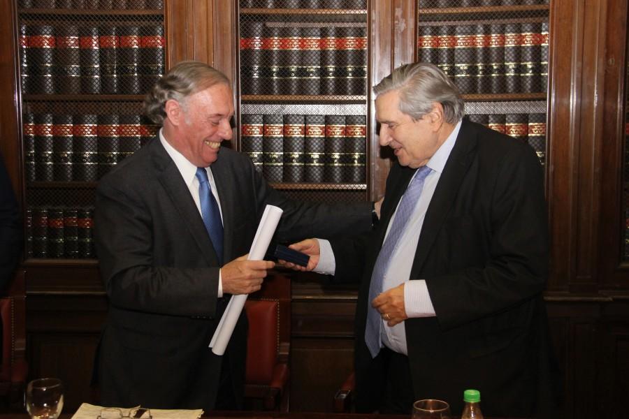 Antonio María Hernández y Alberto J. Bueres