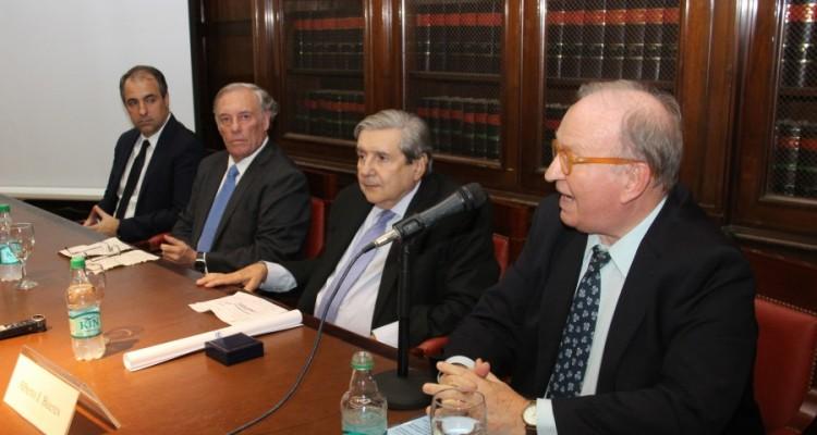 Mariano Genovesi, Antonio María Hernández, Alberto J. Bueres y Daniel Sabsay
