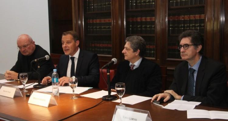 Jörg Dehnert, Sébastien Touzé, Marcelo Alegre y Yann Lorvo