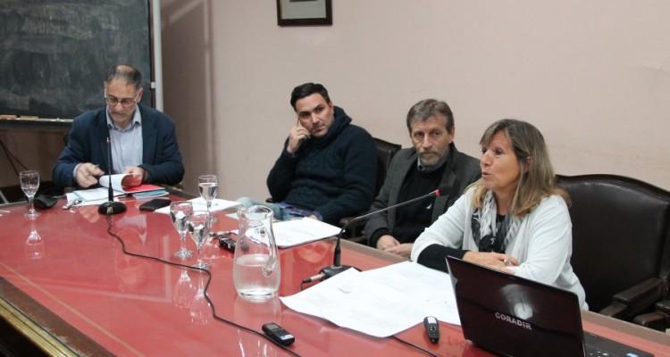 Gustavo Gamallo, Gildo Onorato, Enrique Palmeyro y Emilce Moler