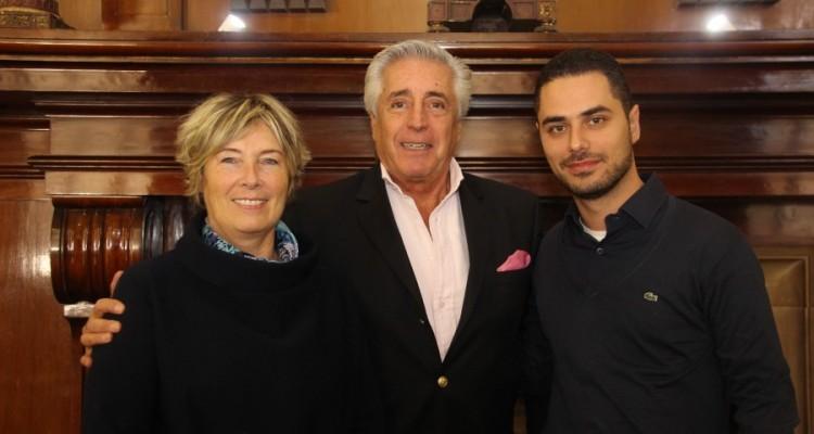 Marta G. Pardini, Daniel Roque Vítolo y Thiago Palumba