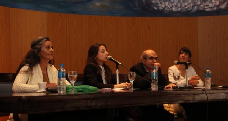 Ana Moreno, Paula Mayor, Néstor E. Solari y Natalia Torres Santomé