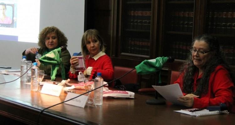 Patricia Gómez, Liliana Hendel y Diana Maffía