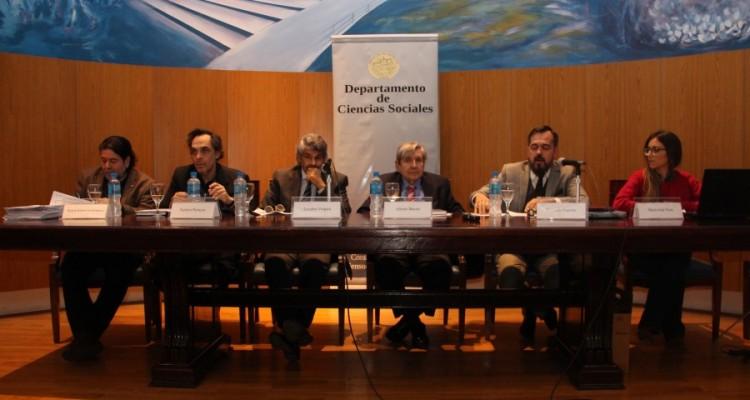 Ricardo Rabinovich-Berkman, Gustavo Ferreyra, Leandro Vergara, Alberto J. Bueres, Fernando Sagarna y María José Vera