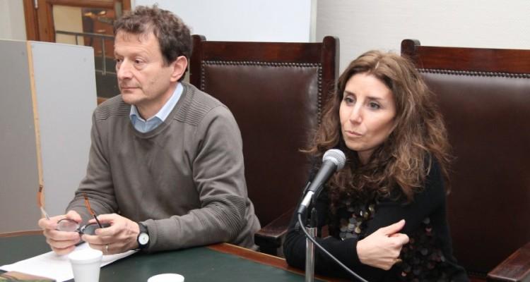 Leonardo Pitlevnik y Julieta Di Corleto